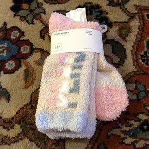 NWT PEACE Gap Cozy Socks One Size